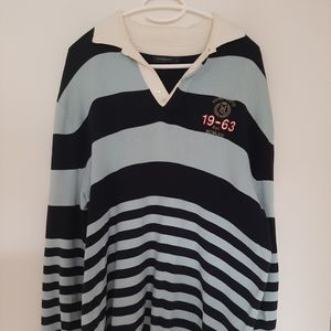 Henri Lloyd Large Mens Rugby Style Sweater